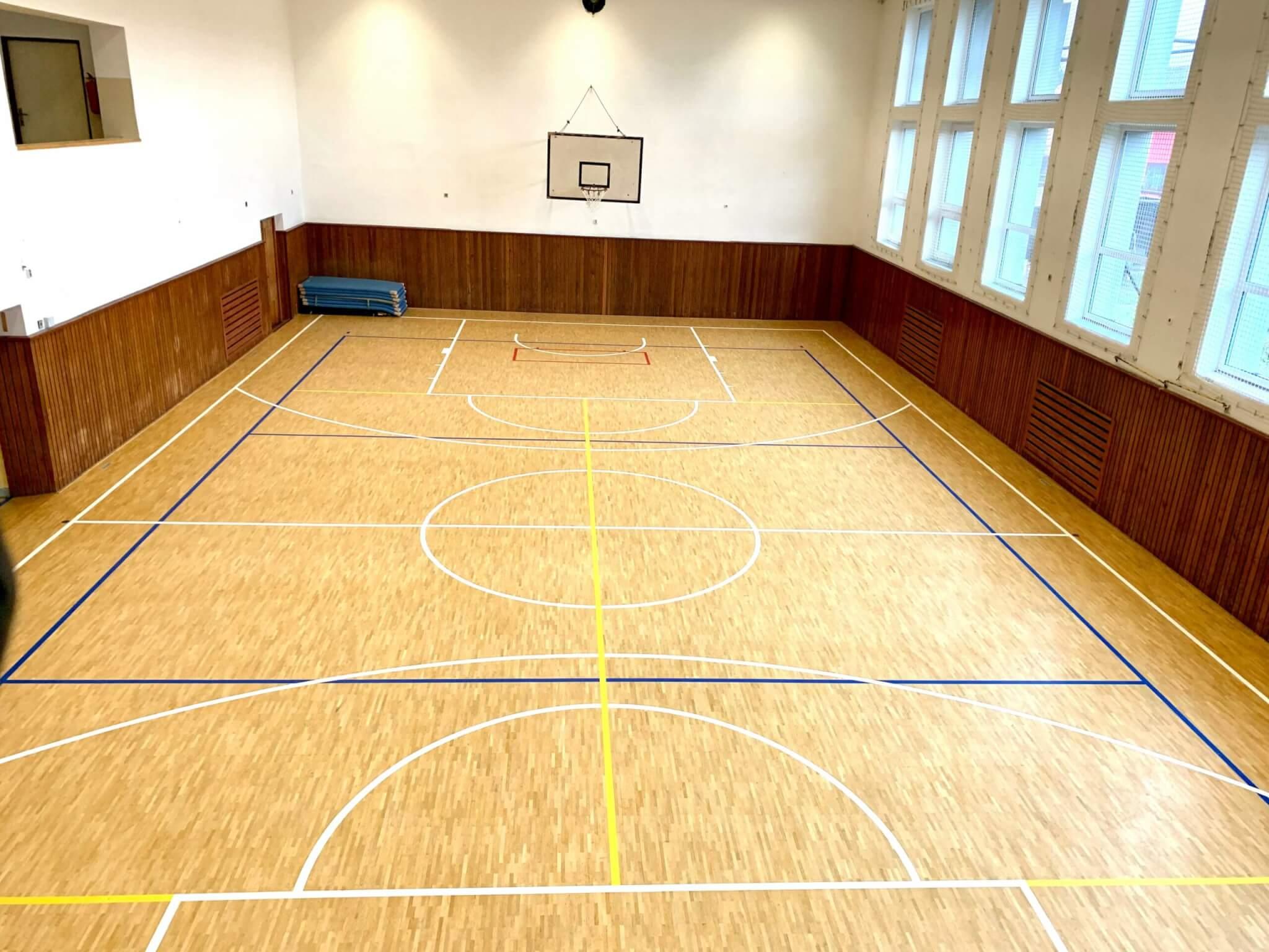 Velký sál s odpruženou plovoucí podlahou